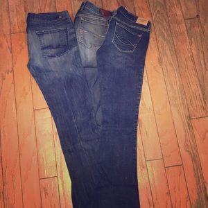 Bundle of 3 Woman's Jeans